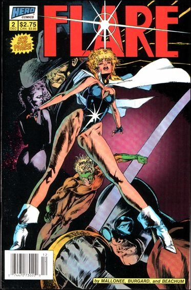 Flare (1988) 2-A by Hero Comics