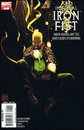 Immortal Iron Fist: Orson Randall and the Death Queen of California 1-A by Marvel