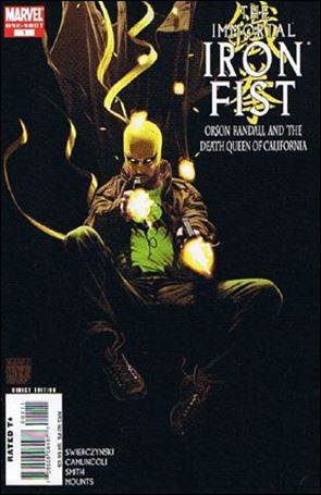 Immortal Iron Fist: Orson Randall and the Death Queen of California 1-A