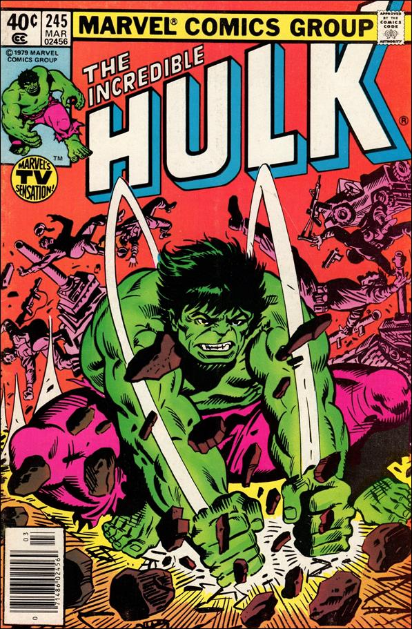 Incredible Hulk (1968) 245-A by Marvel