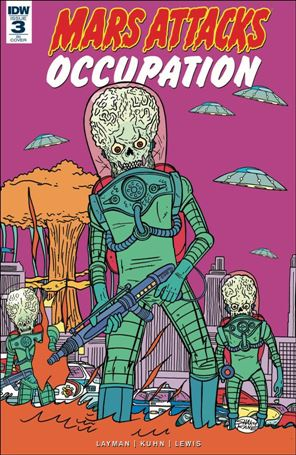 Mars Attacks: Occupation 3-C