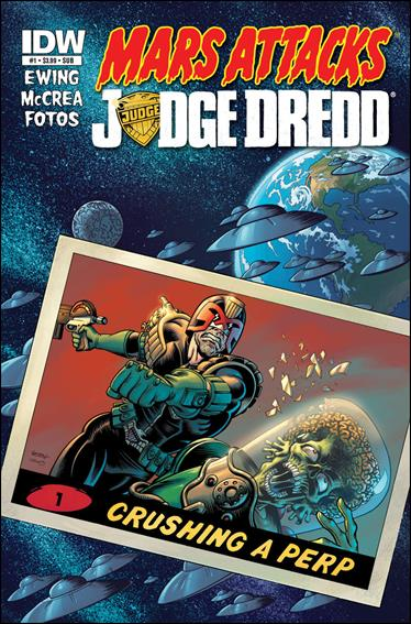 Mars Attacks Judge Dredd 2-B by IDW