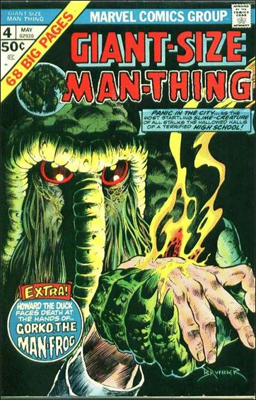Giant-Size Man-Thing 4-A by Marvel