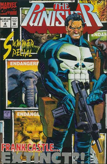 Punisher Summer Special 4-A by Marvel