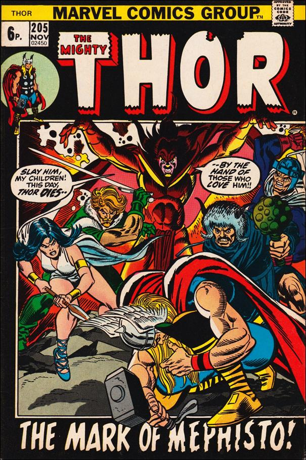 Thor (1966) 205-B by Marvel