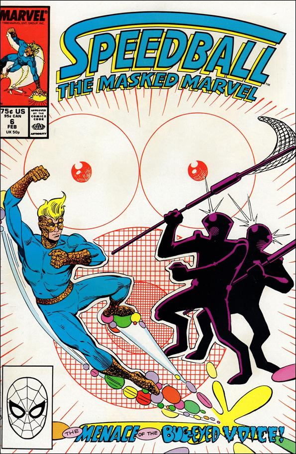 Speedball 6-A by Marvel