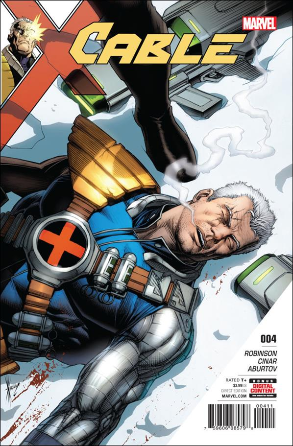 Cable (2017) 4-A by Marvel