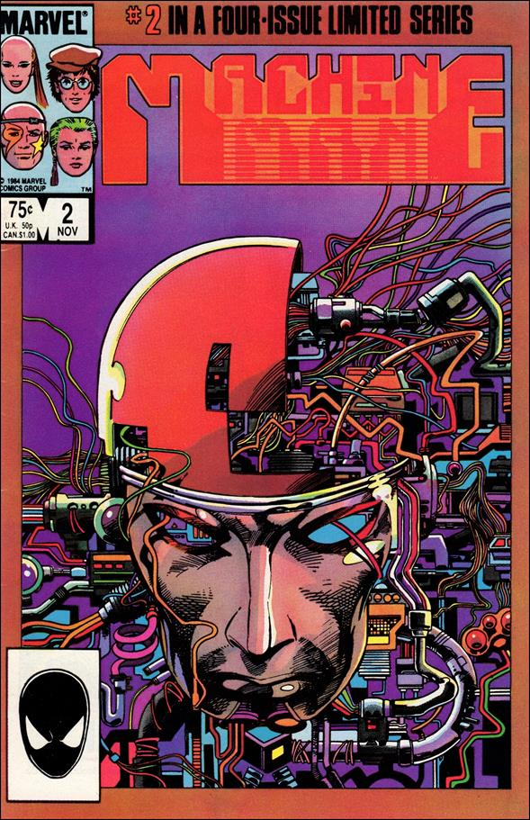 Machine Man (1984) 2-A by Marvel