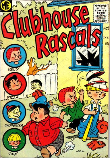 Clubhouse Rascals 1-A by Magazine Enterprises