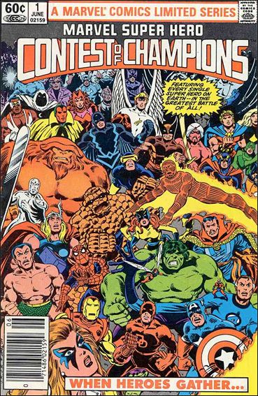 Marvel Super Hero Contest of Champions (1982) 1-A by Marvel