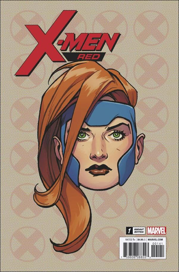 X-Men: Red 1-F by Marvel