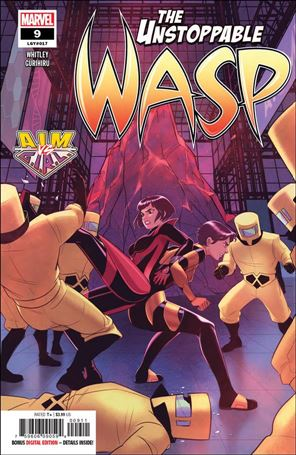 Unstoppable Wasp (2018) 9-A