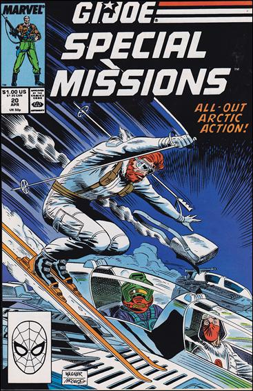 G.I. Joe: Special Missions (1986) 20-A by Marvel