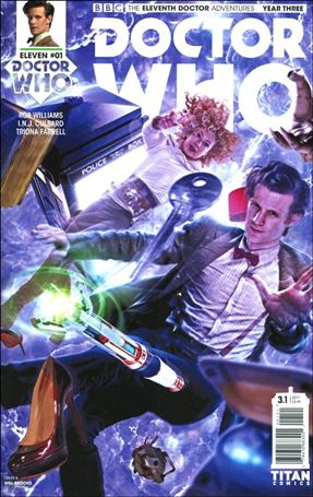 Doctor Who: The Eleventh Doctor Year Three 1-B