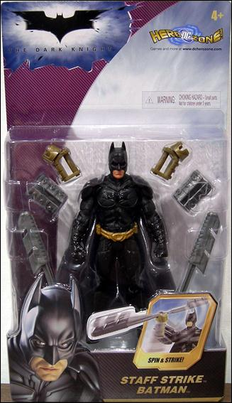 Dark Knight Staff Strike Batman by Mattel