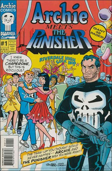 Archie Meets the Punisher 1-A by Marvel