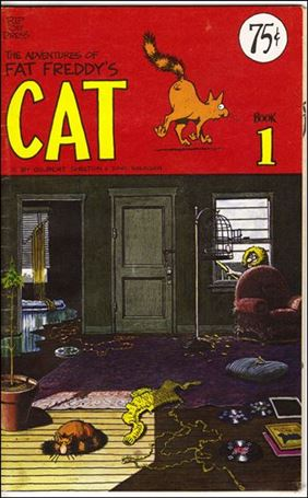 Adventures of Fat Freddy's Cat 1-B