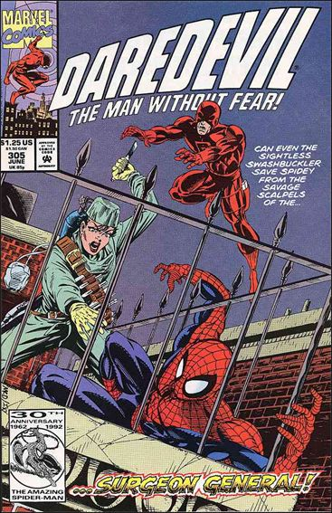 Daredevil (1964) 305-A by Marvel