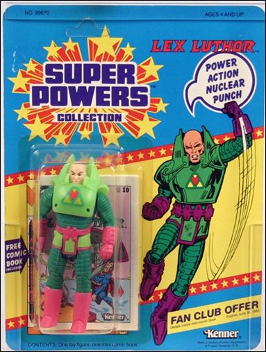 Super Powers Collection Action Figures Lex Luthor by Kenner