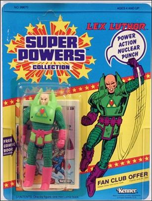 Super Powers Collection Action Figures Lex Luthor