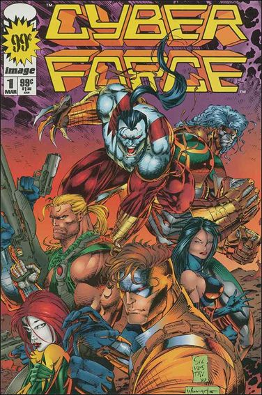 Cyberforce (1993) 1-B by Image