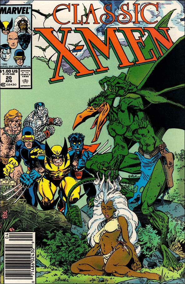 Classic X-Men 20-A by Marvel