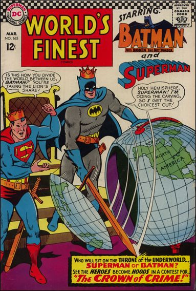 World's Finest Comics 165-A by DC