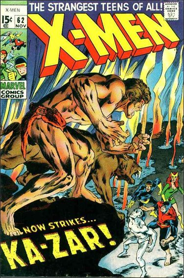 X-Men (1963) 62-A by Marvel