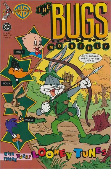 Bugs Bunny Monthly 3-A by DC