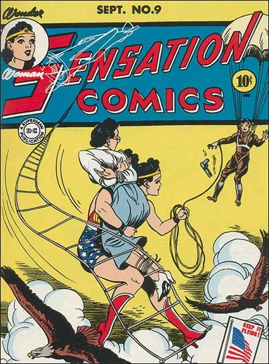 Sensation Comics (1942) 9-A by DC