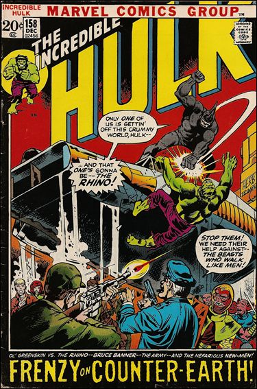 Incredible Hulk (1968) 158-A by Marvel