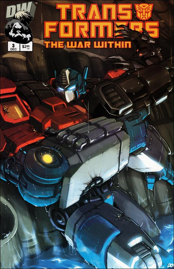 Transformers: The War Within 3-A by Dreamwave