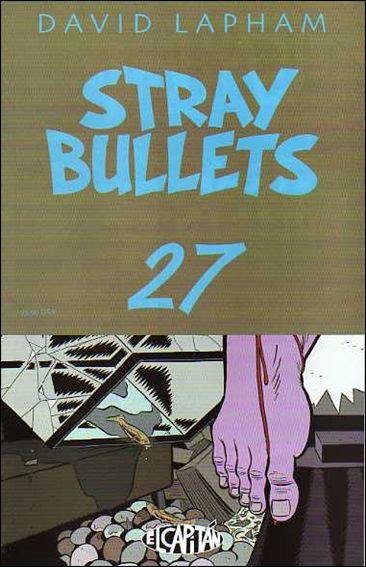 Stray Bullets 27-A by El Capitan