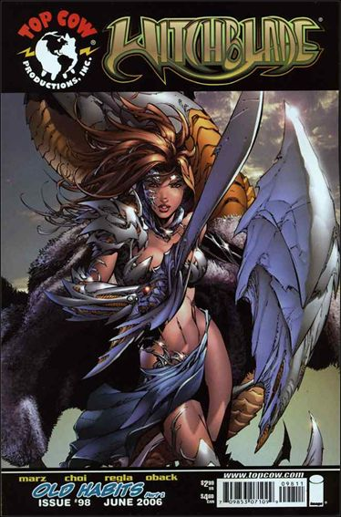 Witchblade 98-A by Top Cow