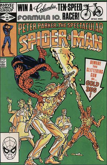 Spectacular Spider-Man (1976) 62-A by Marvel