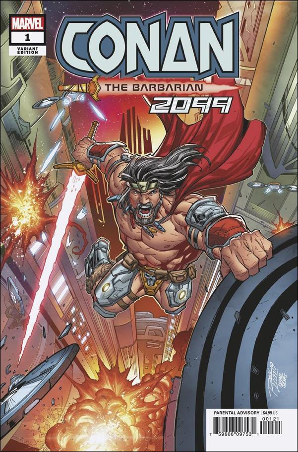 Conan 2099 1-B by Marvel
