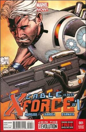 Cable and X-Force 1-C by Marvel
