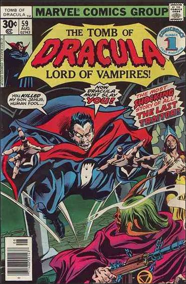 Tomb of Dracula (1972) 59-A by Marvel