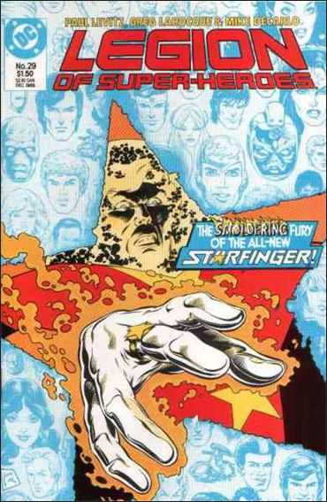 Legion of Super-Heroes (1984) 29-A by DC