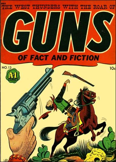 A-1 Comics 13-A by Magazine Enterprises