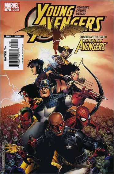 Young Avengers (2005) 12-A by Marvel