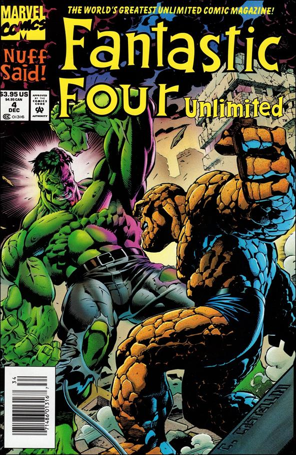 Fantastic Four Unlimited 4-A by Marvel