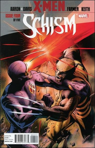 X-Men: Schism 4-A by Marvel