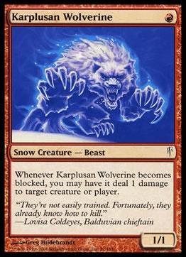 Magic the Gathering: Coldsnap (Base Set)87-A by Wizards of the Coast