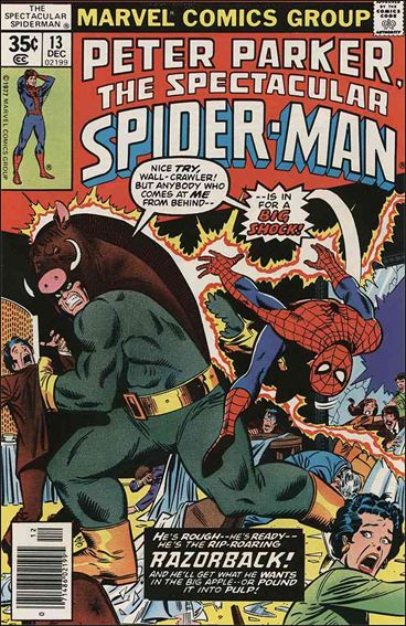 Spectacular Spider-Man (1976) 13-A by Marvel