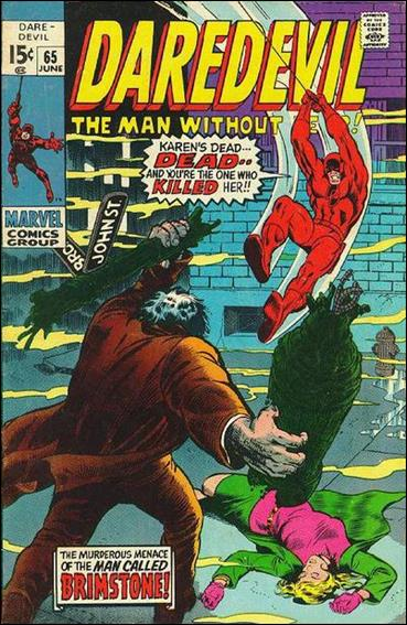 Daredevil (1964) 65-A by Marvel