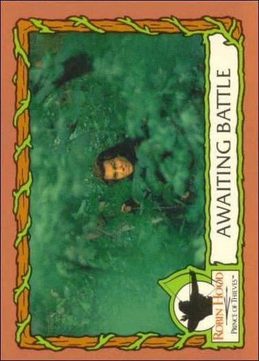 Robin Hood, Prince of Thieves (Base Set) 40-A by Topps