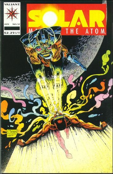 Solar, Man of the Atom (1991) 17-A by Valiant