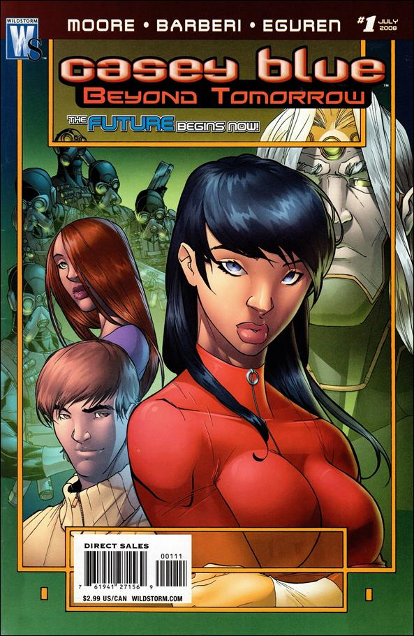 Casey Blue: Beyond Tomorrow 1-A by WildStorm