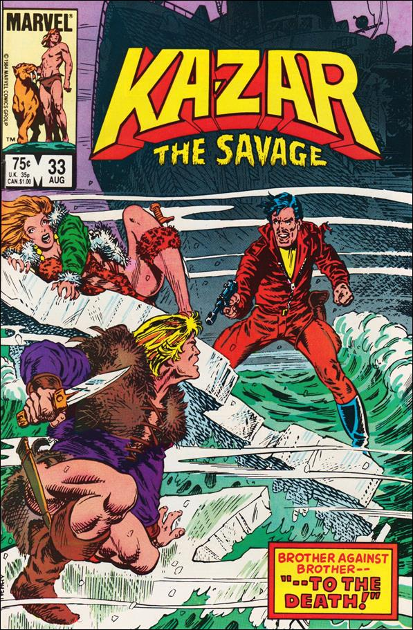 Ka-Zar the Savage 33-A by Marvel